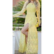 Vestido Longo Em Renda (festa, Casamento)