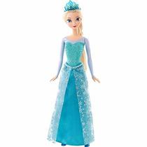 Boneca Disney Frozen Princeza Elza Brilhante - Matell