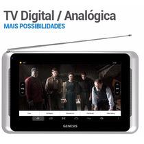 Tablet Genesis Gt-7306 Tv Digital 8gb 1gb De Ram 3g Prata