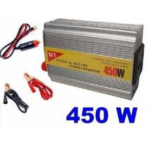 Inversor 450w Transformador 12v Pra 110v Veicular Conversor