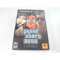 Box Grand Theft Auto The Trilogy Novo Lacrado Ps2