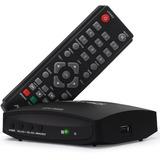 Conversor Tv Digital Aquario Dtv7000s Receptor 1080p Full Hd