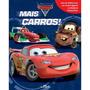 Livro Disney Pixar Mais Carros: Miniaturas Melhoramentos
