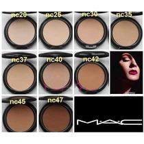 Kit Com 10 Pó Compacto Mac Studio Fix Powder Plus