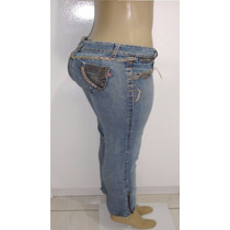 Calça Jeans Feminina Marca Loony Tam.38 C/ Strech S5