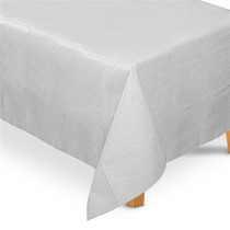 Toalha De Mesa Tnt Retangular Branco 1,40m X 2,00m