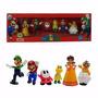 Kit Super Mario Bros 6 Miniatura Colecionável  Presentear