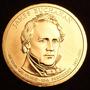 1 Dolar Americano - James Buchanan - Letra P - Fc