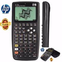 Calculadora Gráfica Hp 50g Digital Com Capa Única Original