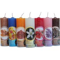 48 Velas Perfumadas Aromáticas Votiva 7 Dias Parafina