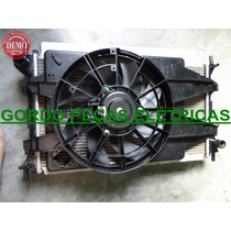 Radiador + Condensador + Defletor + Ventoinha Ford Focus 1.6
