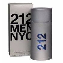 Perfume Carolina Herrera 212 Nyc Men 100ml Melhor Preço