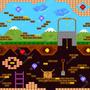 Papel De Parede Adesivo Video Game Retro 12m