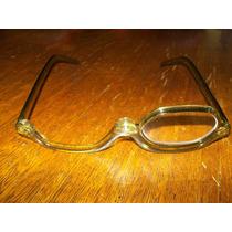 Óculos De Maquiagem Flip Verde Com Estojo Lente +2,00. Lindo