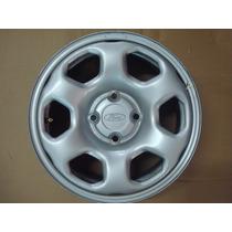 Roda De Ferro Ford Ecosport Aro 15 Com Calota Original