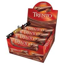 Caixa De Chocolate Trento Chocolate 16 Barras - 512g