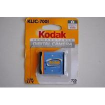 Bateria P/ Camera Digital Kodak Klic-7001 Original Lacrada