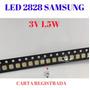 100 Peças Led 2828 3228 Samsung Sti 3v 1,5w Frete Incluído.