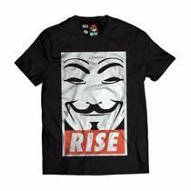 Camisa Blusa Swag V De Vingança Estilo Obey
