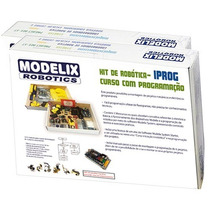 Kit De Robótica Programável F4 Iprog Curso Educativo Modelix