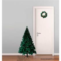 Árvore Natal Pinheiro Canadense 120cm, 220 Galhos+guirlanda