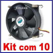 Cooler Coolermaster Dp6-9edsa-ol-gp Lga 1155 / 1156 Kit 10un