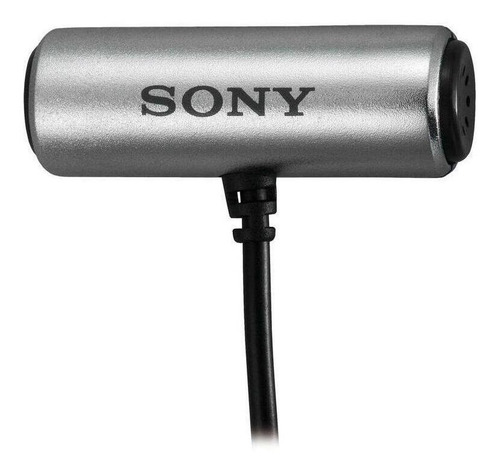 Microfone Sony Ecm-cs3 Cinza