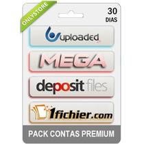 Contas Premium Uploaded Mega Depositfiles 1fichier 30 Dias