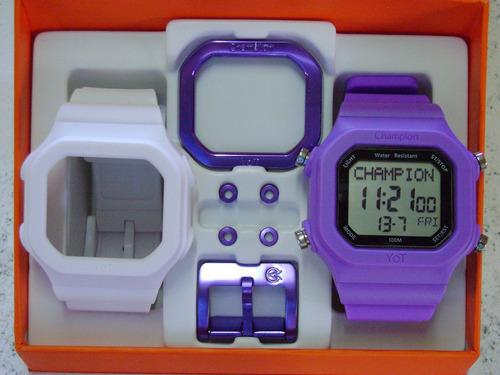 ef741f45dc0 Relógio Cp40180x Champion Yot Original Nota Fiscal - R  169 en ...