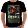 Camiseta Poster Original Filme Crash Estranhos Prazeres