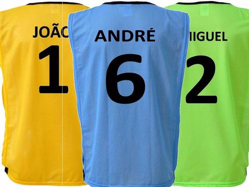 Jogo De Coletes Futebol Dupla Face Personalizado - 15 Un - R  344 en ... 658f1287142da