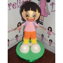 Boneca Dora Aventureira Em Eva 3d 23 Cm