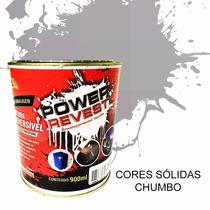 Power Revest ! Envelopamento Liquido - Chumbo Opaco Lata 1/4