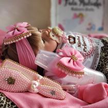 Bolsa Maternidad Bebê Reborn Boneca Real Menina Barata Bela