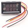 Medidor Voltímetro Amperímetro Digital Led 100v Até 50a