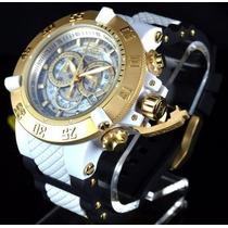 Relógio Masculino Invicta Subaqua 0928 Dourado - Promoção