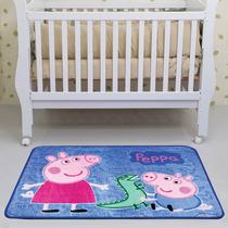 Tapete Decorativo Quarto Criança Bebe Berço Peppa Pepa Pig