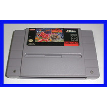 Super Smash Tv Snes Super Nintendo Original Mario