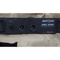 Amplificador De Potência Ciclotron/wattsom Dbs 1500