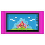Tablet Infantil Princesinha Ht704 Quad-core 8gb Wi-fi +capa