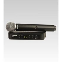 Microfone Sem Fio Shure Blx24 Sm58 Original E Lançamento