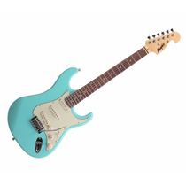 Guitarra Memphis By Tagima Strato Mg-32 - Surf Green