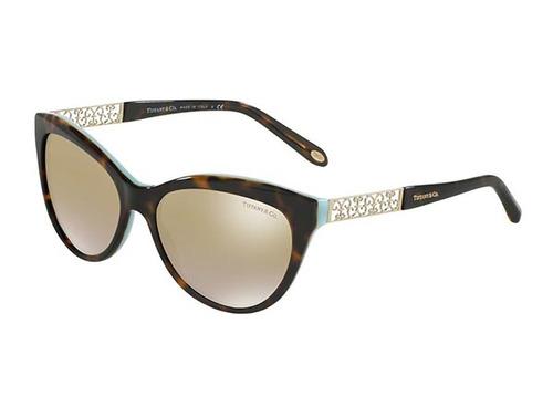 Óculos De Sol Tiffany Tf4119 8134 (marrom, Marrom, Espelhada 90addf947e