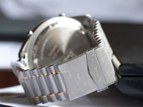 1a1d43aaa6e Relógio Technos Skydiver 30 Anos T205fq 5p Prata Grande 150m. Preço  R  597  Veja MercadoLibre