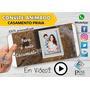 Video Convite Animado Casamento Praia