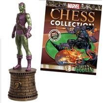 Miniatura Marvel Chess Duende Verde 27 + Fascí Em Inglês Jrc
