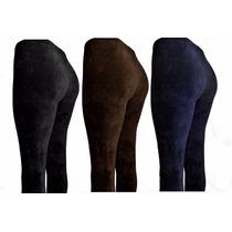 Calça Legging Veludo Cotelê Com Lycra Frete Grátis