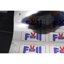 Vinil Adesivo A4 Cromado | Impressora Jato De Tinta