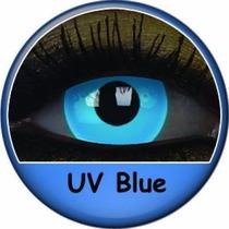 Lentes Uv - Brilha Com A Luz Negra - Cosplay Contato