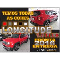 Jeep Renegade Longitude 1.8 Automatico Rodas 18 - 0km 16/16